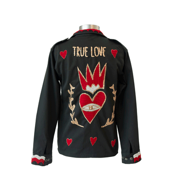 True Love Military Jacket