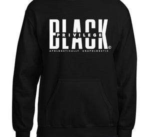 Black Privilege Glow in the Dark Hoodie