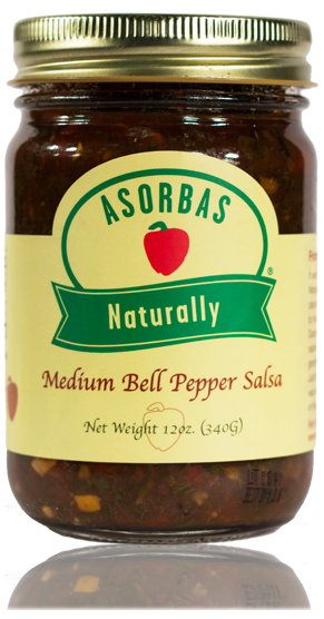 Medium Bell Pepper Salsa – 12oz
