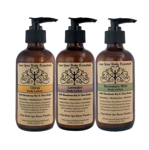 4 oz Body Lotion Choose from 25 Fragrances