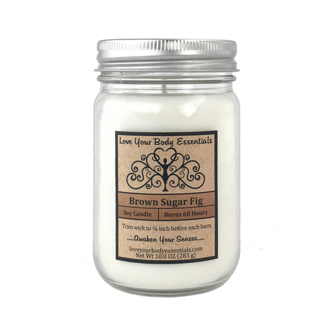 Brown Sugar Fig Soy Candle