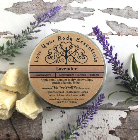 Lavender Miracle Salve