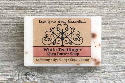 White Tea Ginger Shea Butter Soap