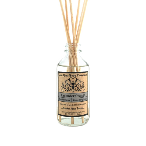 Lavender Orange Reed Diffuser