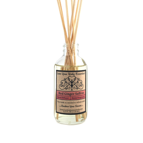 Red Ginger Saffron Reed Diffuser