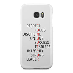 Conqueror (White) Phone Case