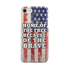 Home Of The Brave Vintage Phone Case