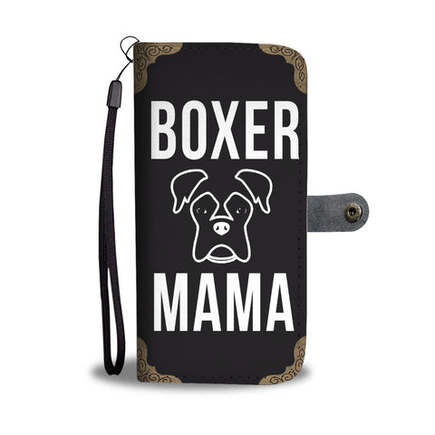 Boxer Mama With Bronze Corners Wallet Case