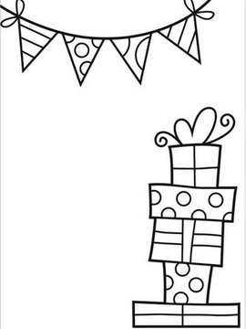 Darice - Embossing Folder - Presents