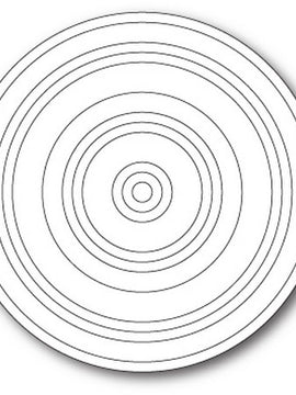 Poppystamps - Dies - Concentric Rings
