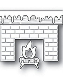 Poppystamps - Dies - Cozy Hearth