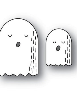 Poppystamps - Dies - Whittle Ghosts