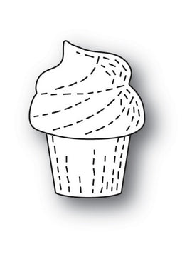 Poppystamps - Dies - Whittle Cupcake