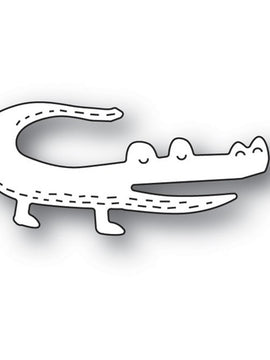 Poppystamps - Dies - Whittle Gator