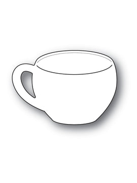 Poppystamps - Dies - Classic Coffee Cup