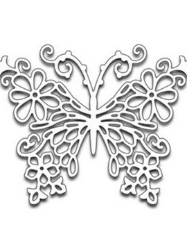 Penny Black - Dies - Floral Butterfly