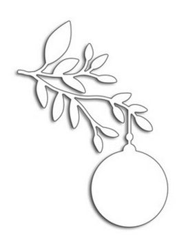 Penny Black - Dies - Ornament Branch