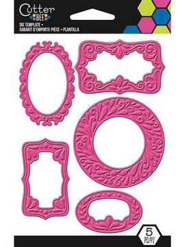 EK Success - Cutter Bee Die Set - Decorative Frame