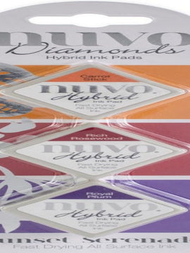 Nuvo Diamond Hybrid Ink Pads - Sunset Serenade