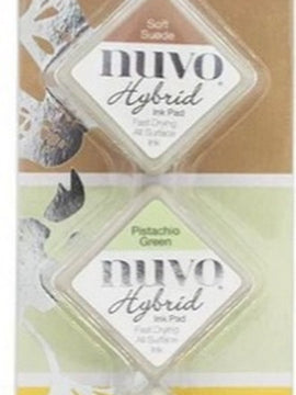 Nuvo Diamond Hybrid Ink Pads - Woodland Walk