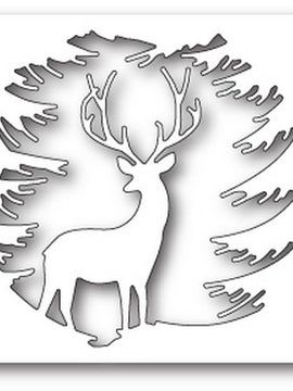 Memory Box - Dies - Evergreen Reindeer
