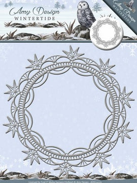 Amy Design - Dies - Wintertide - Ice Crystal Frame