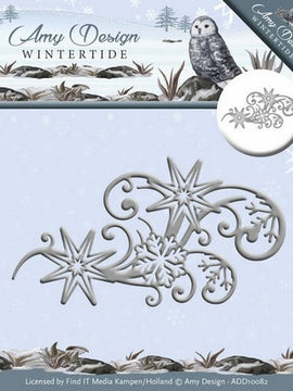 Amy Design - Dies - Wintertide - Ice Crystal Swirl