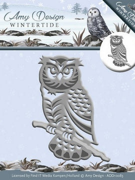 Amy Design - Dies - Wintertide - Owl