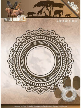 Amy Design - Dies - Wild Animals - African Circle