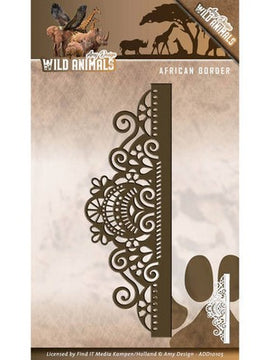 Amy Design - Dies - Wild Animals - African Border