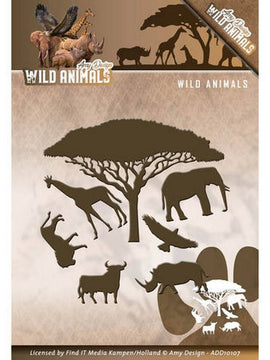 Amy Design - Dies - Wild Animals - Wild Animals