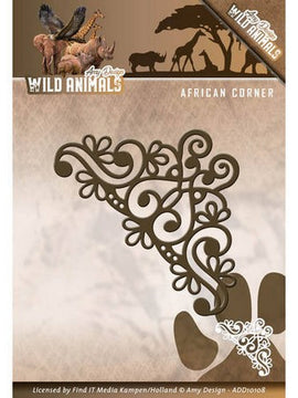 Amy Design - Dies - Wild Animals - African Corner