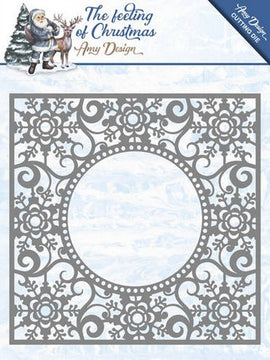 Amy Designs - Dies - The Feeling Of Chirstmas - Ice Crystal Frame