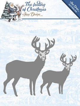 Amy Designs - Dies - The Feeling Of Chirstmas - Christmas Reindeers