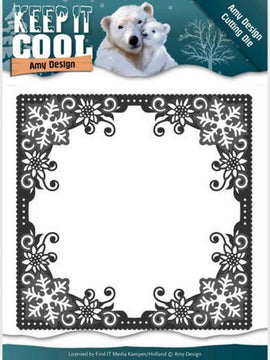 Amy Design - Dies - Keep It Cool - Cool Square Frame