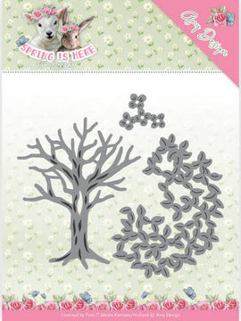 Amy Design - Dies - Spring Is Here - Spring Tree