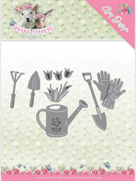 Amy Design - Dies - Spring Is Here - Garden Tools