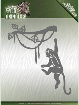 Amy Design - Dies - Wild Animals 2 - Spider Monkey