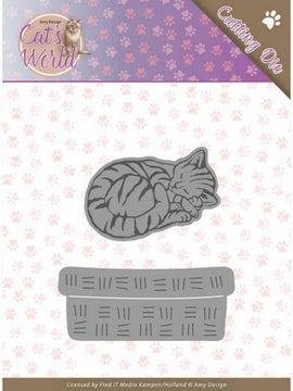 Amy Design - Dies - Cat's World - Sleeping Cats