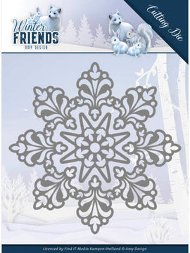 Amy Design - Dies - Winter Friends - Snow Crystal