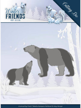 Amy Design - Dies - Winter Friends - Polar Bears