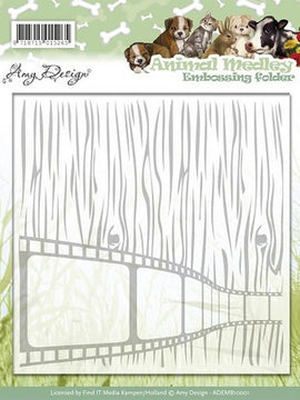Amy Design - Embossing Folders - Animal Medley