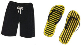 Cheery Lynn Designs - Flip Flops & Board Shorts