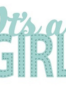 Sue Wilson Designs - New Arrival Collection - It's A Girl