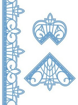 Sue Wilson Designs - Pacific Ocean Collection - Border & Corners