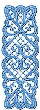 Sue Wilson Designs - Striplet - Lattice Heart