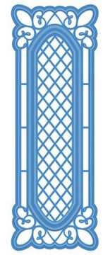 Sue Wilson Designs - Striplet - Lattice Window