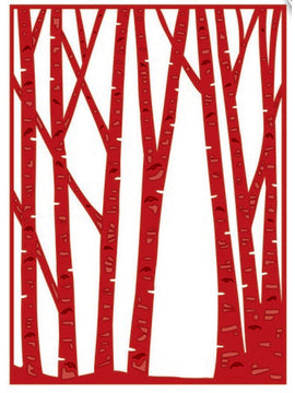 Sue Wilson Designs - Woodland Collection - Birch Tree Forest