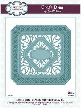Sue Wilson Designs - Noble Collection - Classic Adorned Squares