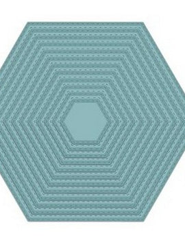 Sue Wilson Designs - Noble Collection - Double Stitched Hexagon